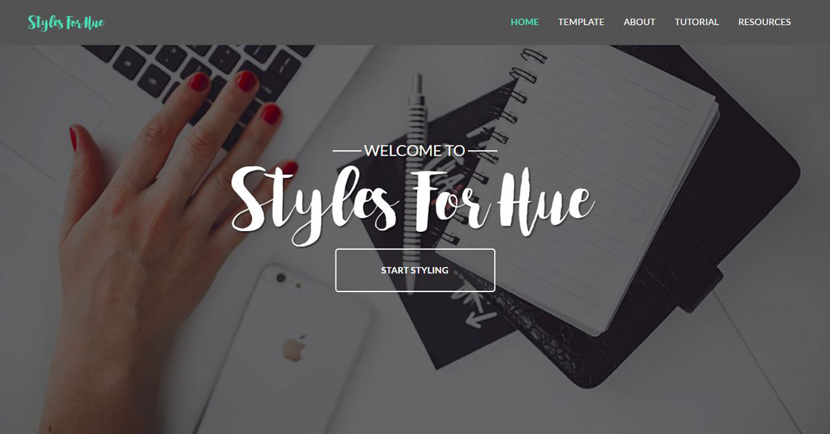 Styles For Hue
